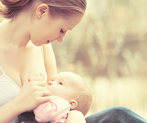 Mother breastfeeding