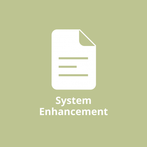 System Enhancement Report