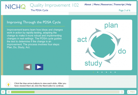 Quality Improvement Course